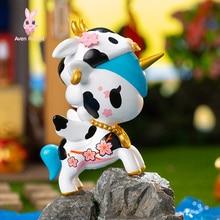 Guess-Bag Blind-Bag Anime Toys Figures-Model Unicorn Ciega Zodiac Guardian Caja Birthday-Gift