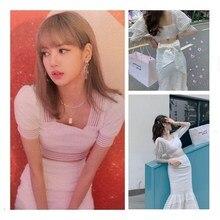 kpop Blackpink LISA 2020 korean streetwear tops two piece se