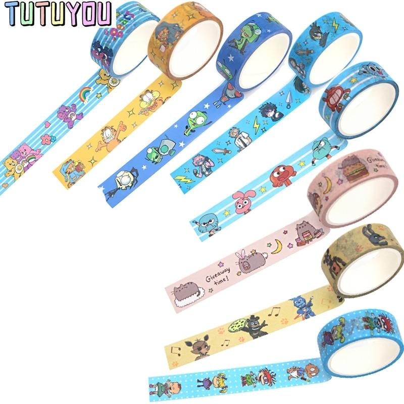 PC940 1pcs Anime Washi Tape Decorative Adhesive Tape Diy Scrapbooking Sticker Label Craft Masking Tape