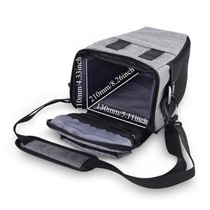 Image 5 - DSLR Camera Bag Case For Nikon D3400 D3500 D5600 D7500 P900 S Canon 1100D 200D 750D 80D T6 Lens Pouch Shoulder Package