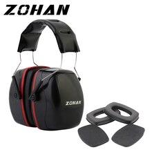 ZOHAN 귀 보호 NRR35DB 촬영 소음 방지 귀마개 전술 촬영 귀 플러그 소음 방지 귀 보호 및 귀 패드