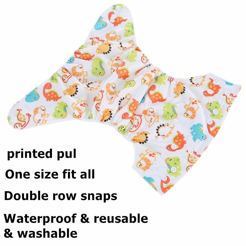 simfamily 1PC Reusable Waterproof digital printed baby Cloth Diaper One Size Pocket baby nappies wholesale