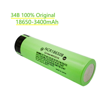 1/20pcs 100% New 3400mAh Original NCR18650B 3.7v 3400 mAh 18650 Lithium Rechargeable Battery Flashlight batteries
