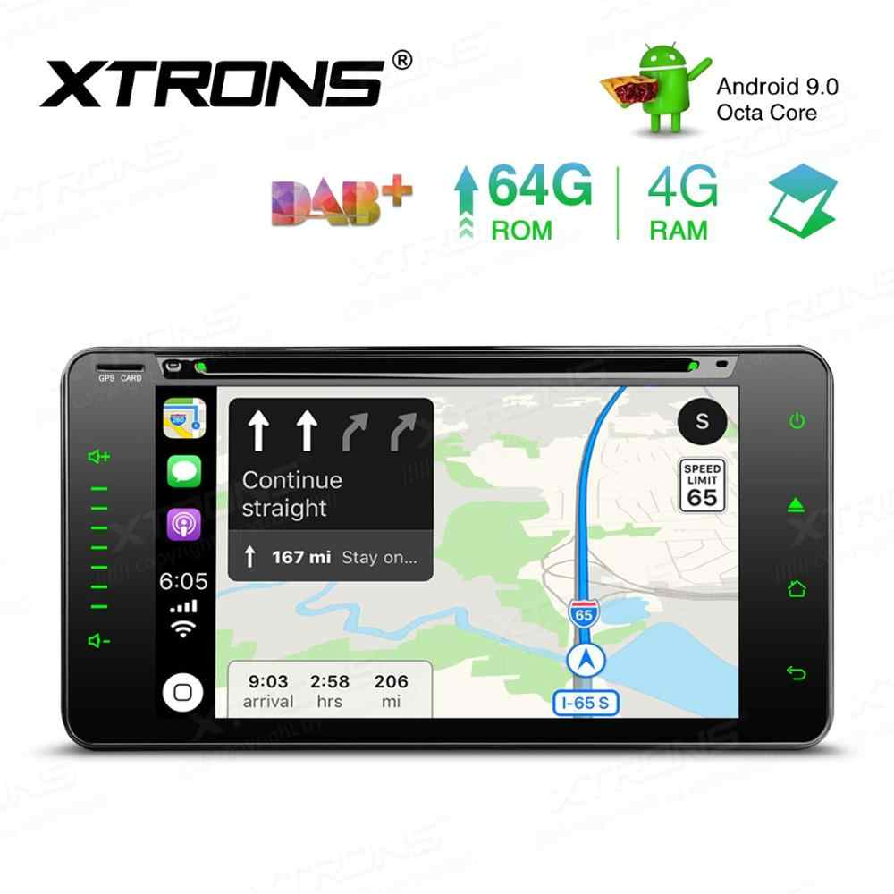 "6.95 ""Android 9.0 OS Mobil DVD Multimedia Navigasi GPS Radio untuk Toyota Corolla 2000-2006 & Sequoia 2003 -2007 & Echo 2000-2005"