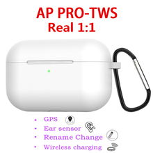 AP Pro Bluetooth Wireless Earphones Clone Air 3 Pro 1:1 Replica Airpoder Earbuds 8D Hifi Stereo Sport Headset not i80 i10000 yison i80 silver