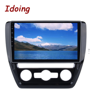 "Image 3 - Idoing 10.2""4G+64G Octa Core Car Android Radio Vedio Multimedia Player Fit VOLKSWAGE 2011 2015 2.5D IPS DSP GPS Navigation"