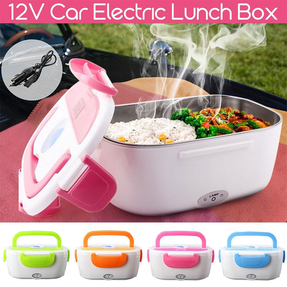 Hot Sales Heating Lunch Boxes Portable Electric Heater Lunch Box Car Plug Food Bento Storage Container Warmer Food Container Ben
