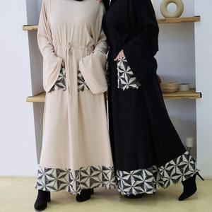 Islam Muslim Abayas for Women Arabic Hijab Dress Dubai Abaya Turkey Kaftan Caftan Marocain Turkish Clothing Vestidos Largos Robe