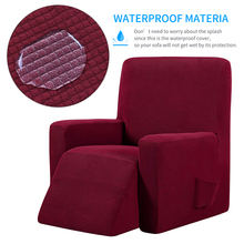 Chair-Cover Sofa Massage Recliner Living-Room Elastic Waterproof for 13-Colors Red-Wine