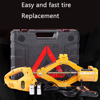 12v Electric Wrench Tool Jack Car Device Hydraulic Service Quick Change Tire Easy to Carry