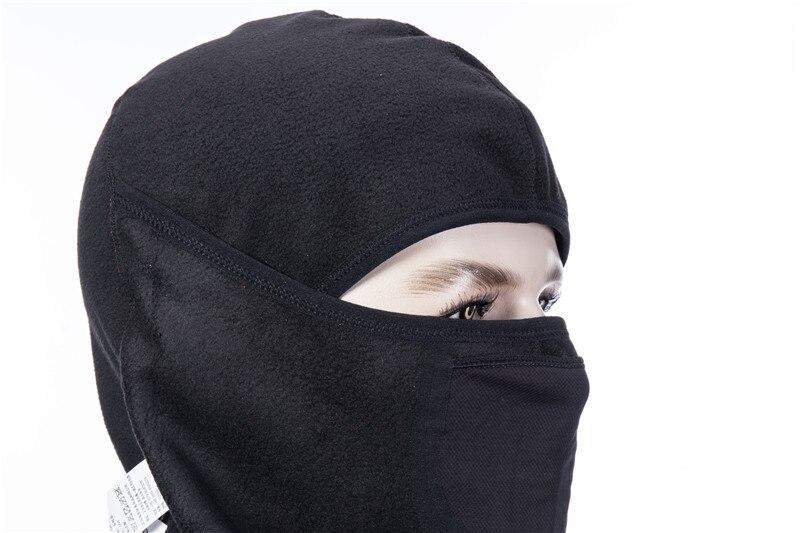 H8ca54ef1f0cf4859aab8bd1e3cf6ad5b6 - Winter Ski Mask Cycling Skiing Running Sport Training Face Mask Balaclava Windproof Soft Keep Warm Half Face Mask