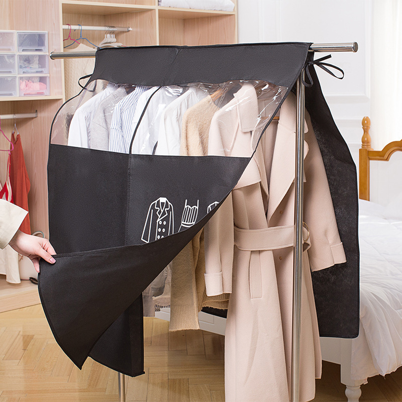Dust-proof Clothes Cover For Garment Suit Dress Coat Cloth Protector Clothes Case Home Storage Organizer Bags 4 Color