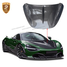 Real Carbon Fiber Hood Engine Cover Bonnet For 2017 Mclaren 720s Topcar Style Car Front Engine Cover Auto Modification Parts