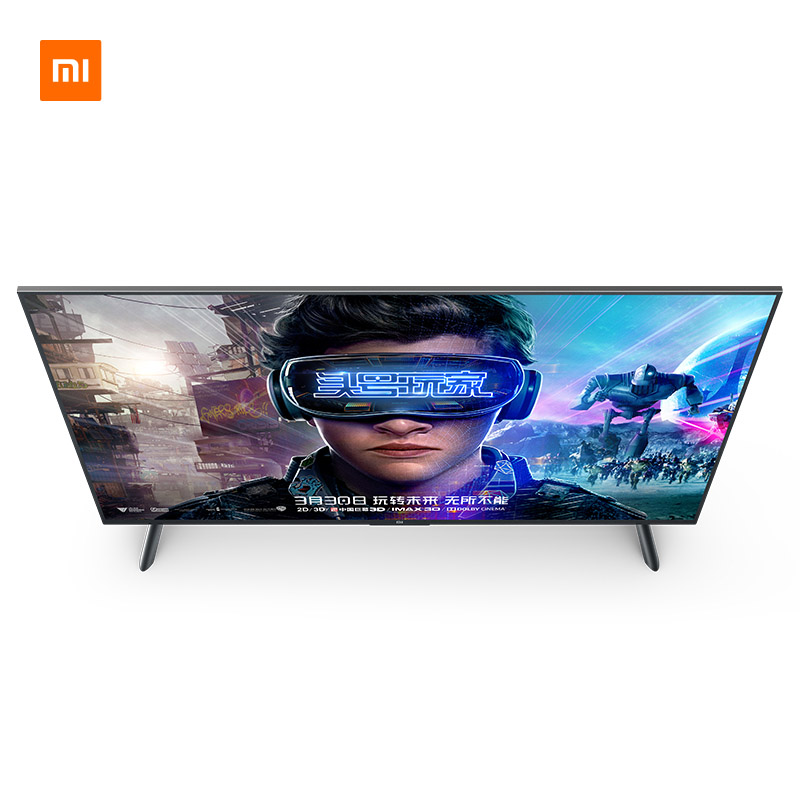 TV Xiao mi TV Android Smart TV 4S 55 pouces écran 4K HDR complet TV ensemble WIFI Ultra-mince 2GB + 8GB Dolby | support mural cadeau - 3