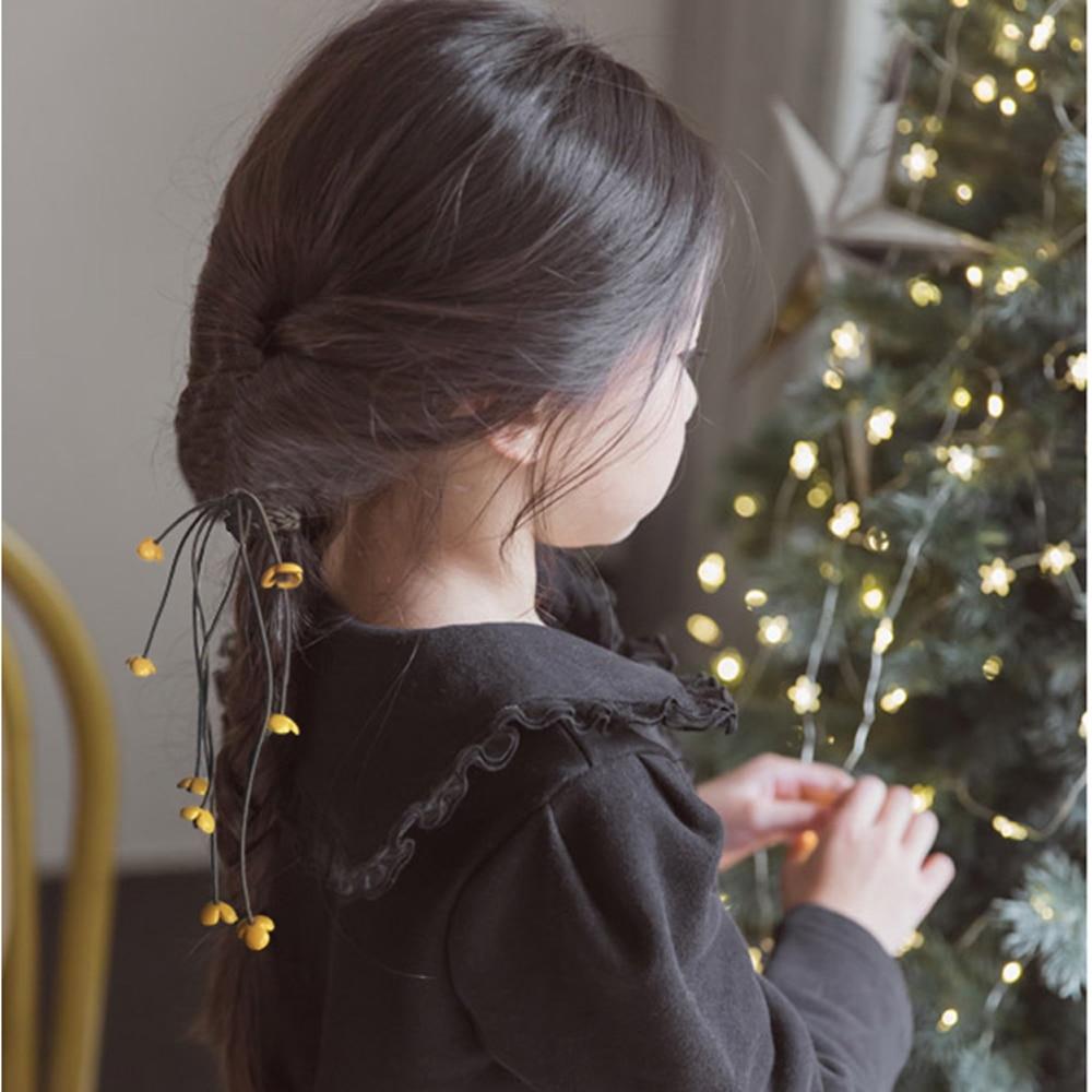 Cute Korea 2020 Handmade Hair Ropes Girl Rubber Band Cute Hair Tie