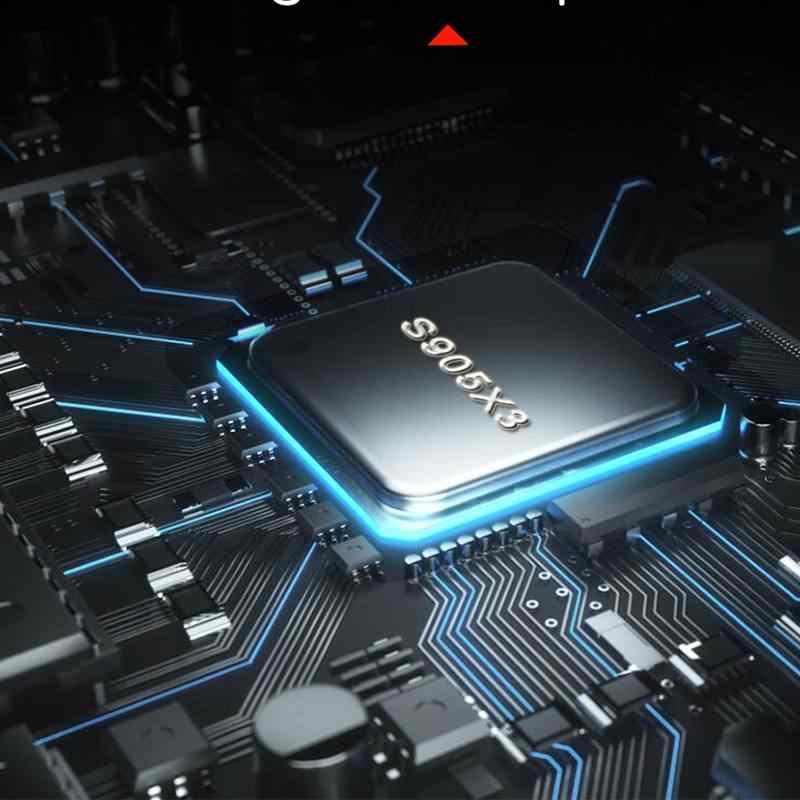 Magicsee N5 ماكس أندرويد 9.0 صندوق التلفزيون Amlogic S905X3 4GB RAM 128GB ROM 5G واي فاي بلوتوث 4.0 أندرويد 9.0 4K 8K مجموعة صندوق فوقي