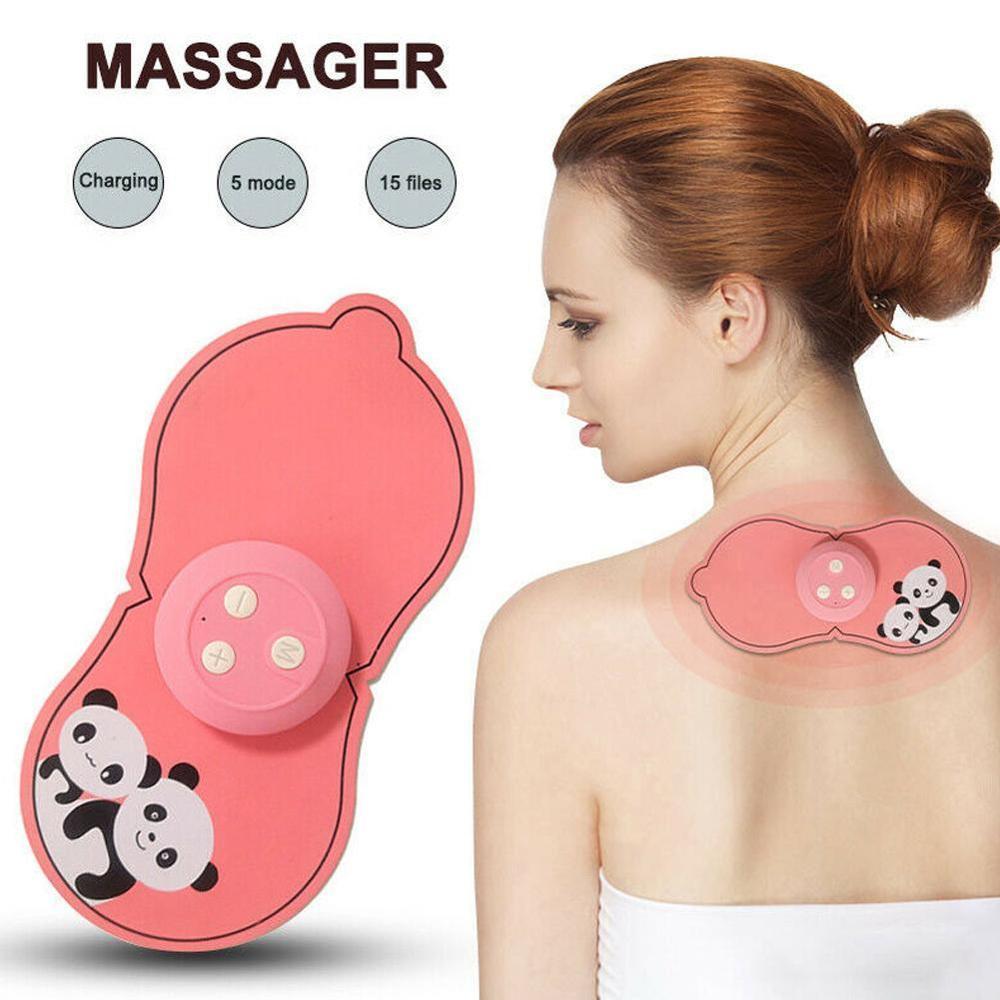 Mini Massager USB Electric Multifunctional Low Frequency Current Pulse Shoulder Neck Pad Cervical Vertebra Waist Arm Leg Massage