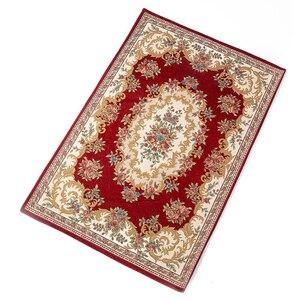 Image 1 - Islamitische Gebed Mat 80*120Cm Cashmere Achtige Thicken Deken Salat Musallah Vloerkleed Tapijt Moslim Namaz Non Slip Bidden Matten
