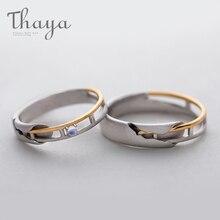 Женское кольцо с лунным камнем Thaya, Золотое и ажурное ювелирное изделие из серебра 925 пробы, ювелирное изделие, милый подарок