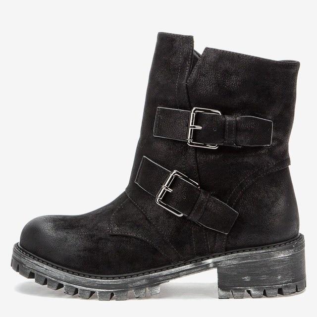 Ботинки Женские черные демисезон на молнии Betsy 987109/01-01