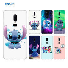 VBNM Lilo Stitch Soft Rubber TPU Silicone Back Case For OnePlus One Plus 1+ 7 Pro 6 6T 5 5T 3 3T Mobile Phone Bag Coque Cover
