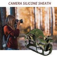 Silicone Camera Case for Canon EOS R 1300D T6 M50 5D II III IV 5D2 5D3 5D4 4000D T100 800D T7i 6D II 6D2 70D 80D 200D SL2 750D