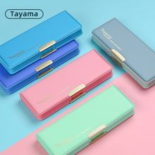 1 шт японский tayama двусторонний Открытый Чехол карандаш для