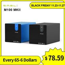 SMSL M100 MKII Digital USB DAC AK4452 DSD512 32bit/768kHz 106dB Optische SPDIF Aluminium desktop Audio XMOS Decoder