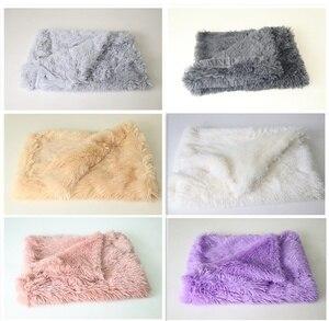 Новые длинные плюшевые одеяла для собак, кошек, матрац для кошек, пушистый коврик для кровати для домашних животных, мягкие зимние теплые то...