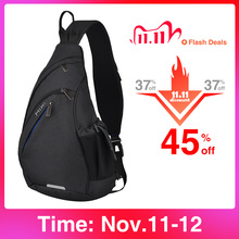 Mixi Men Sling Backpack One Shoulder Bag Boys Student School Bag University Work Travel Versatile 2020 Fashion New Design M5225