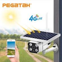 Солнечная ip 1080p hd камера безопасности Водонепроницаемая