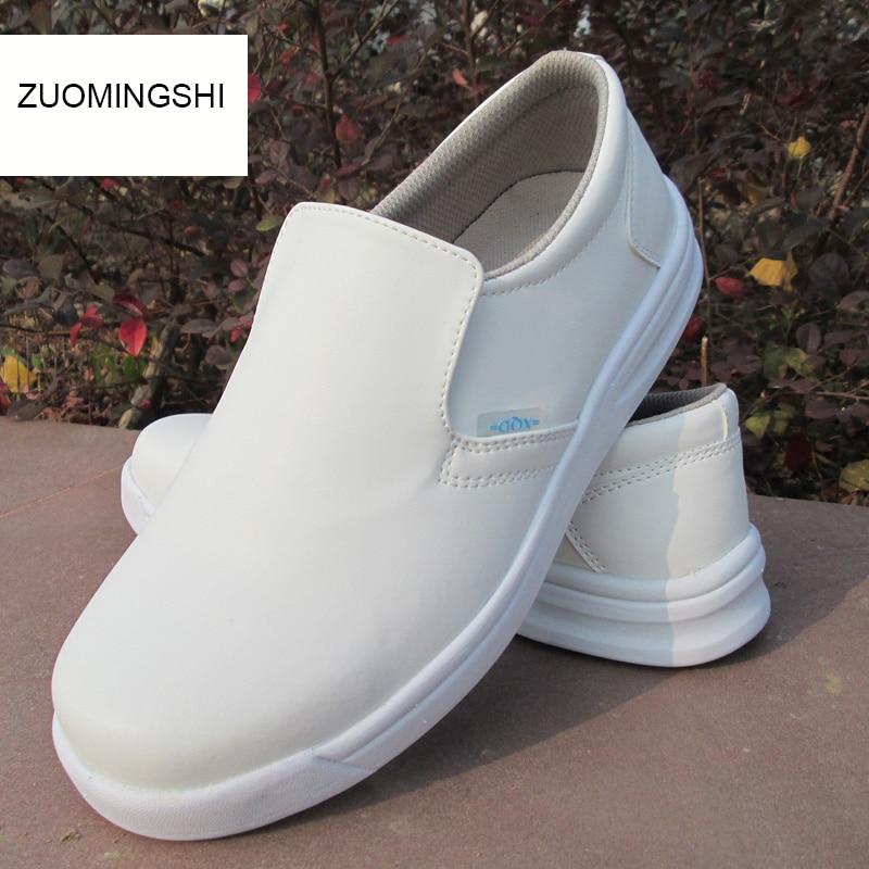 Japanese Chef Kitchen Non-slip Shoes Men Waterproof Shoes Unsex Mens Shoes  Mens Boots