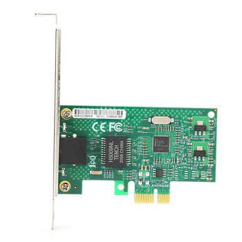 Pojedynczy Port karta sieciowa PCI-E x1 Gigabit 82583V serwer komputer stacjonarny dla esxiPXE miękka trasa gorąca sprzedaż tanie i dobre opinie YOUTHINK 10 100 1000 mbps Wewnętrzny Przewodowy 1000 m ethernet Pulpit Pci express Gigabit ethernet Single Port Network Card