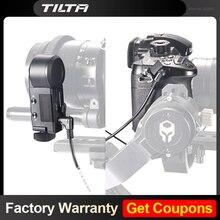 كابل تسجيل من Tilta لمتابعة التركيز المحرك اللاسلكي النواة N نانو الأحمر تشغيل/إيقاف/سوني F5 F55/أري GH4 GH5 URSA BMPCC كاميرا 4K
