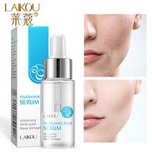 LAIKOU-suero Facial con esencia de ácido hialurónico, 15ml, antiarrugas, blanqueador, vitamina C, suero Facial para el cuidado de la piel, ácido hialurónico puro