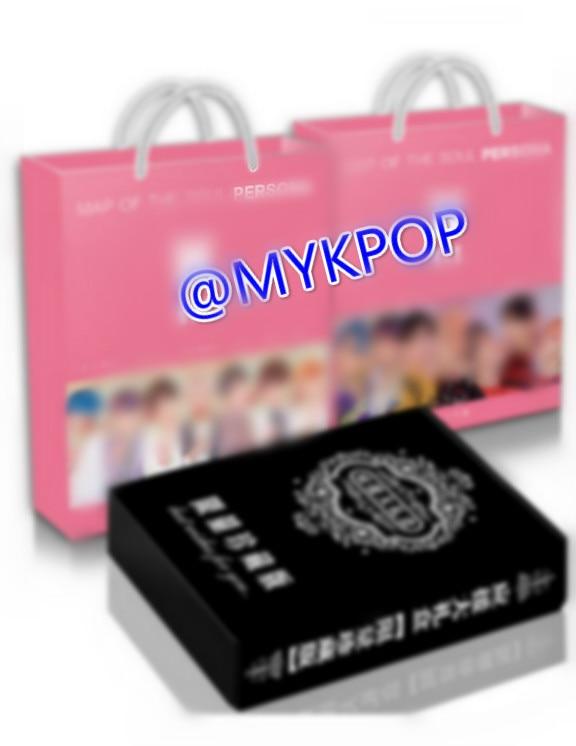 [MYKPOP] coffret cadeau de luxe Hot KPOP BOY: carte de la SOUL PERSONA, CD + carte postale + livre Photo + carte LOMO + signets + autocollants SA19052603