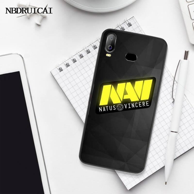 PENGHUWAN Natus Vincere navi Cover Black Soft Shell Phone Case For Samsung A10 A20 A30 A40 A50 A70 A71 A51 A6 A8 2018
