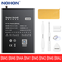 NOHON nuova batteria per Xiaomi Redmi Note 2 3 4 4X 5 7 8 Pro BM45 BM46 BN4A BN41 BN45 BN43 BN46 BM4J batterie sostitutive per telefono