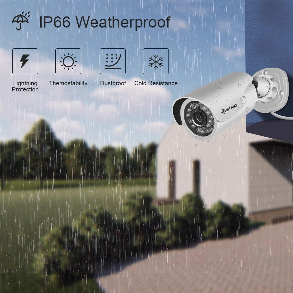 DEFEWAY Kiti Kamera Video Gözetim 1080 P CCTV Sistemi 8CH Gözetim - Güvenlik ve Koruma - Fotoğraf 3