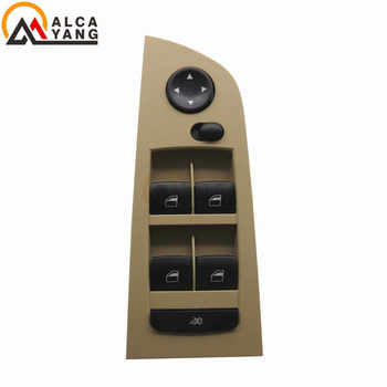 For BMW E90 E91 325i 328i 330i 316 318 320 325 330 323 Master Driver Window Mirror Switch Button 61319217331 329 Without Floding