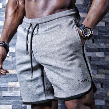 2020 nowych mężczyzna siłownie Fitness luźne spodenki kulturystyka biegaczy lato szybkoschnący fajne szorty spodnie męskie Casual plaża marki spodnie dresowe tanie i dobre opinie ASRV TECHNICAL SPORTSWEAR Na co dzień K-115 COTTON Sznurek Stałe REGULAR NONE