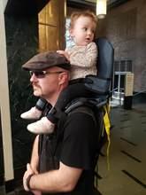 Mão-livre portador de ombro alça de criança de náilon rider para 2-5 anos de idade crianças bebê mais seguro canguru envoltório sling suspensórios