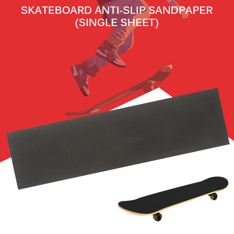 Skateboard Grip Tape Board Skateboard Deck Sandpaper Non Slip Sticker Longboarding Professional Skateboard Scooter Accessories