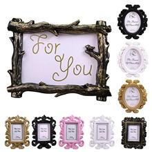 Party-Decoration-Supplies Picture-Holder Photo-Frame Hollow-Design Oval/rectangle Home-Decor