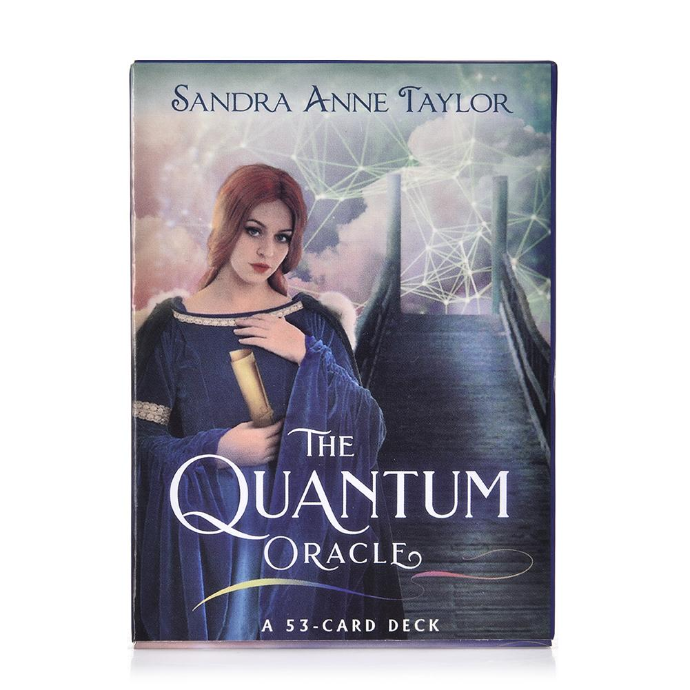 Creative Tarot Cards 53 The Quantum Oracle Game Card Family Holiday Party Playing Cards English Board Games Set New Arrival