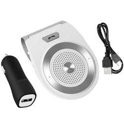 Zestaw głośnomówiący Bluetooth 4.1 głośnik bezprzewodowy samochód Van odbiornik Bluetooth Stereo kabel aux