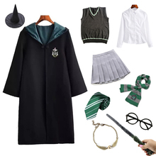 Halloween Costume Cloak Granger Ravencalaw Women School-Robe Adult Children Magic