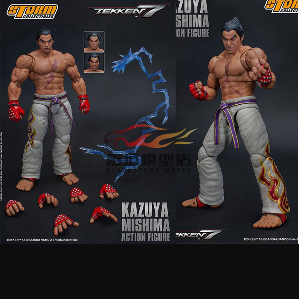 Fs001 1 6 Tekken King Of Combat Iron And Fist Action Figure King