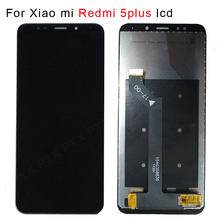 100% test dla Xiaomi Redmi 5 Plus wyświetlacz LCD + ramka 10 ekran dotykowy Redmi5 Plus LCD zamiennik digitizera części zamienne do napraw