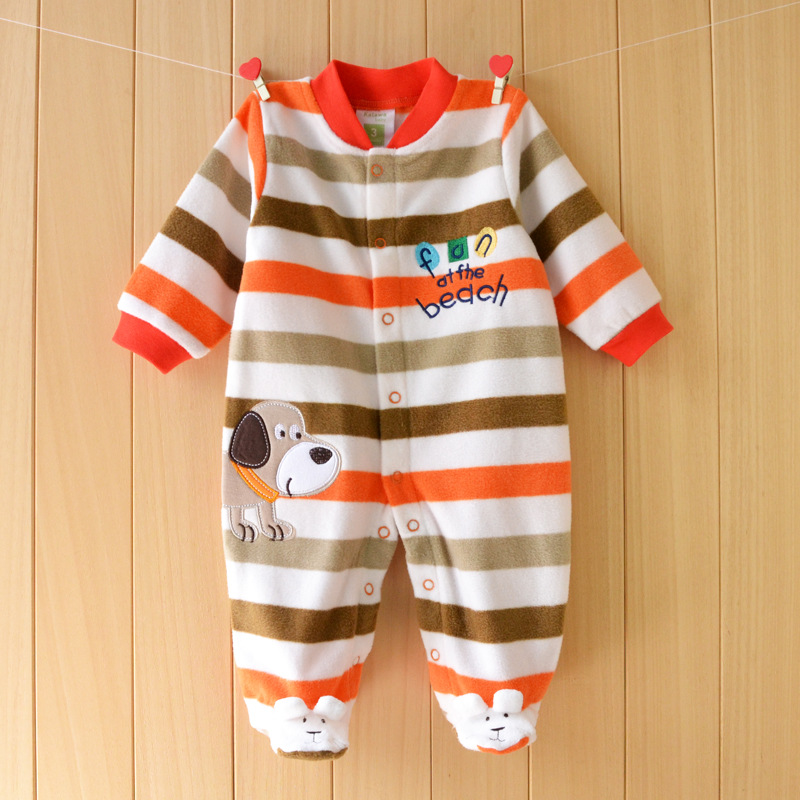 2019 Unisex Baby   Romper   Fleece Fabric Baby Boy Girl Clothes brands Newborn Baby Clothing infant Baby Jumpsuits Winter   Romper